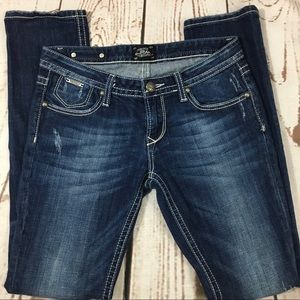 "like New Bebok for Express skinny jeans 29x31"""